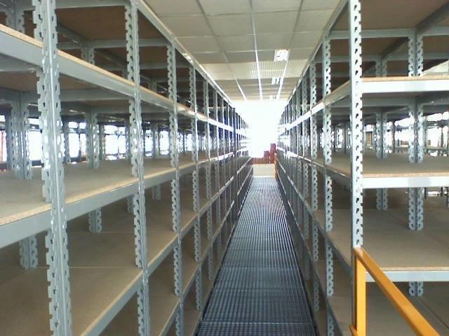 Estante de aço para armazenagem