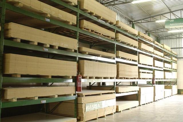 Estrutura de armazenagem