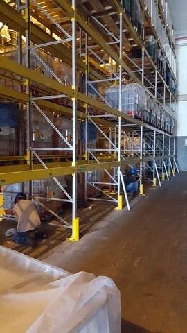 Manutenção de porta pallets
