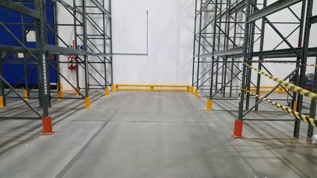 Protetor para porta pallet
